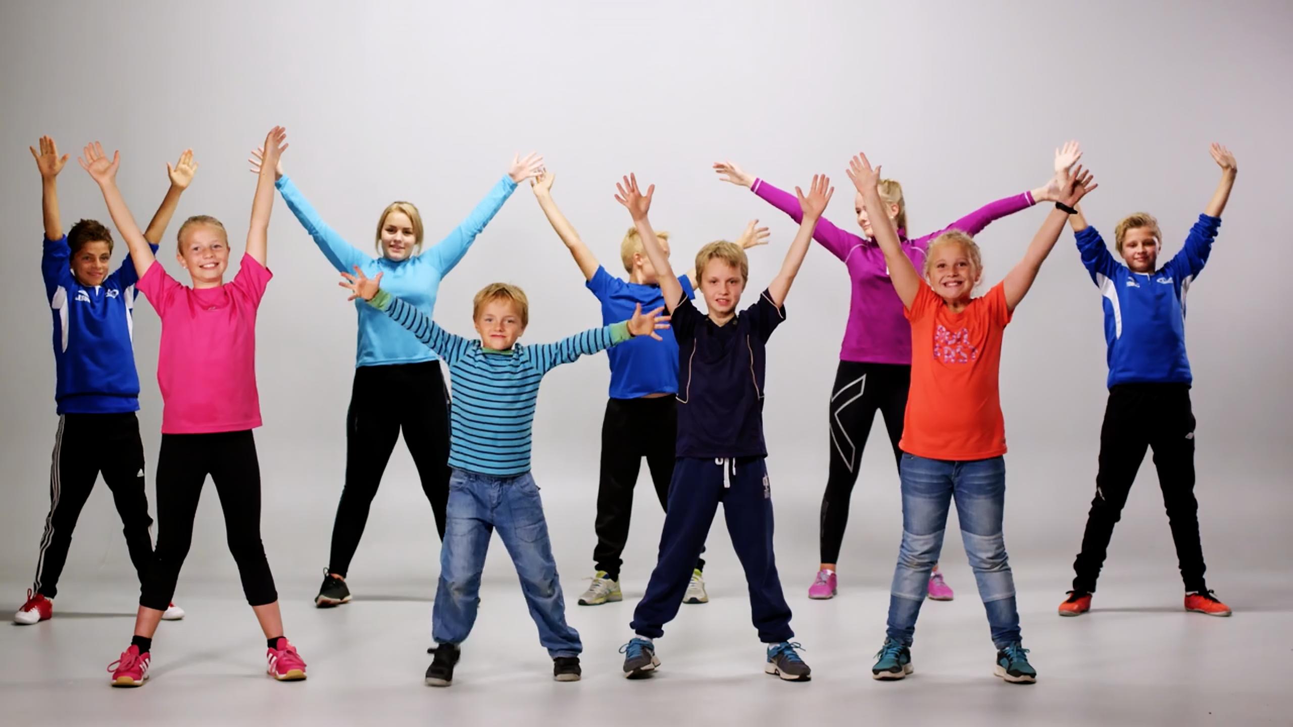 Barn som danser